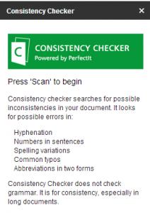 ConsistencyCheckerAdd-on