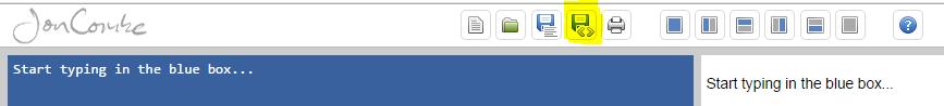 Jon Combe HTML button