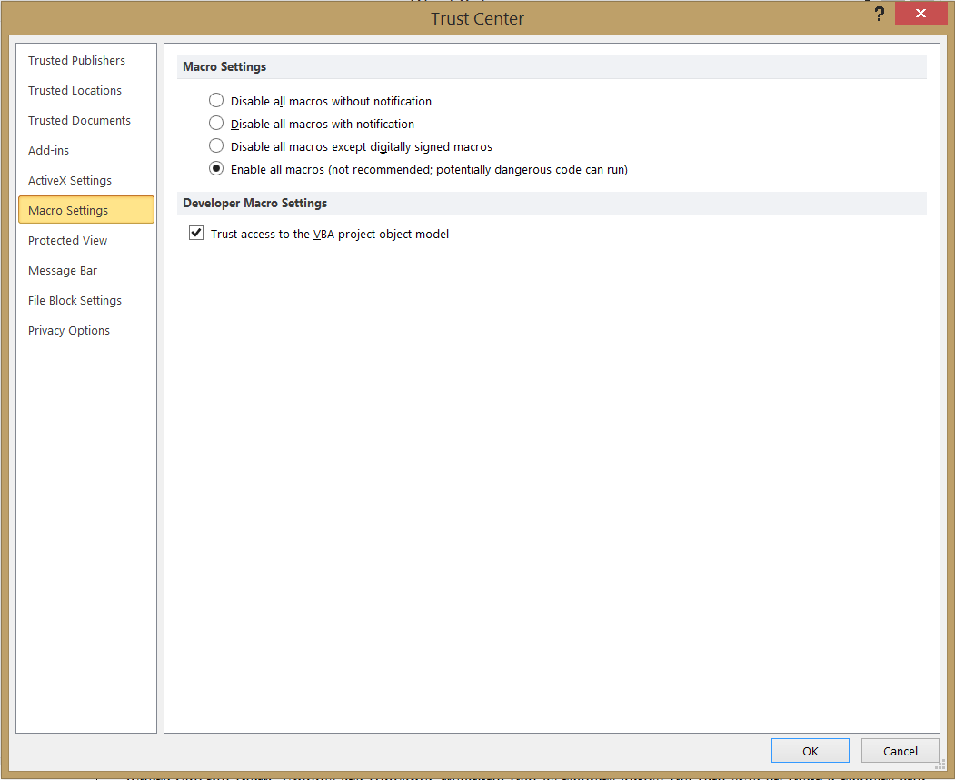 Enable Word To Run Macros Tech Tools For Writers